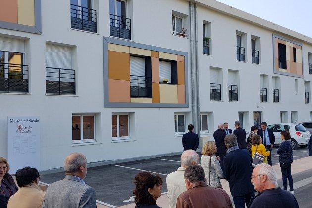 Blanche de Castille à Bellême: logements et maison médicale