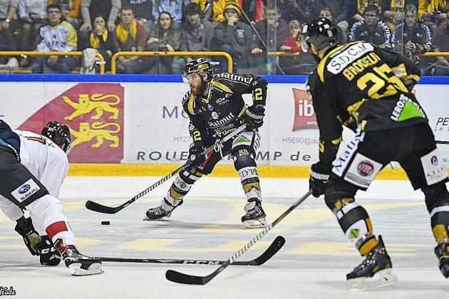Hockey: les Dragons de Rouen remportent un deuxième derby contre Amiens