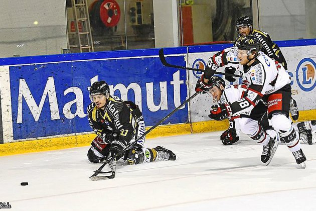 Hockey: les Dragons de Rouen déjà éliminés de la Coupe de France