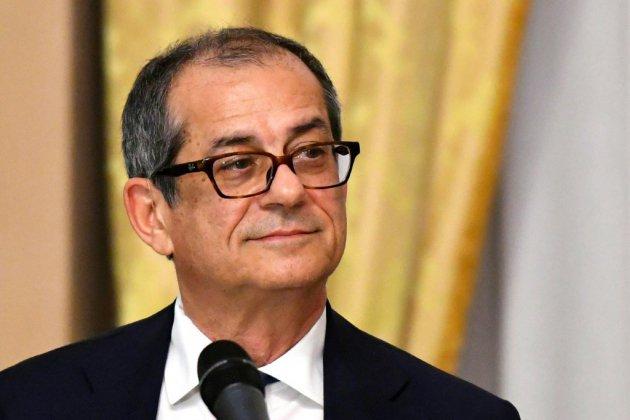 """""""L'Italie n'est pas un problème"""", assure son ministre des Finances"""