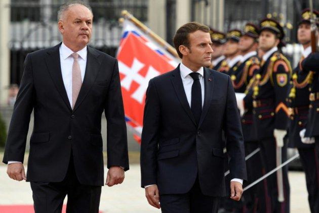 En visite à l'est, Macron lance un avertissement aux pays dérogeant aux principes de l'UE