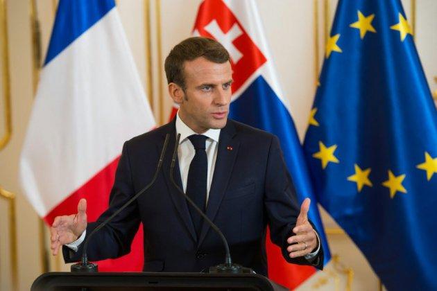 """Macron """"regrette"""" l'achat de F-35 par la Belgique, """"contraire aux intérêts européens"""""""