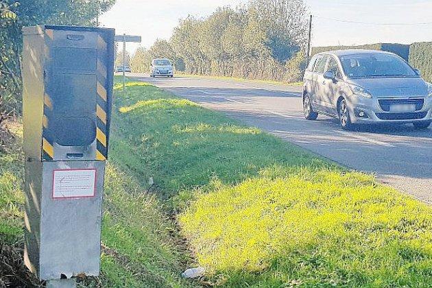 Manche: un radar de nouveau vandalisé