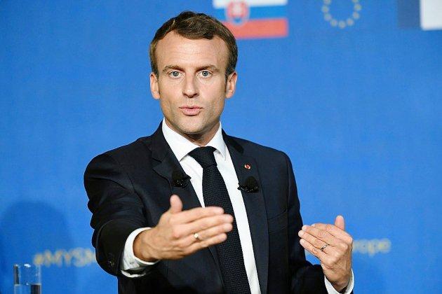 """Macron accuse implicitement Merkel de """"démagogie"""" sur les livraisons d'armes à Ryad"""