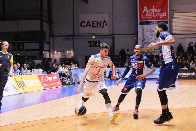 Basket (Pro B) : Caens'écroule à Chartres