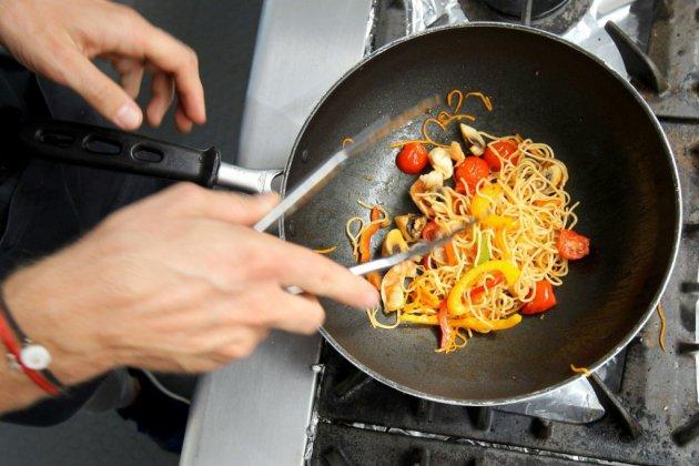 F1: Romain Grosjean, pilote professionnel et cuisinier amateur