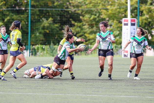 Rugby(Élite féminine) :L'ASRUC ouvreson compteur !