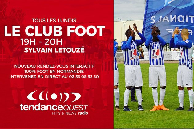 [REPLAY] : Caen inoffensif, la Coupe de France et l'augmentation des licenciés en Normandie au menu du Club Foot
