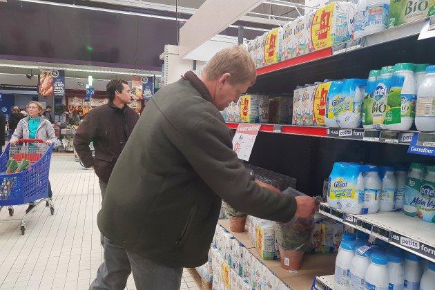 En Seine-Maritime, les agriculteurs protestent contre les promotions