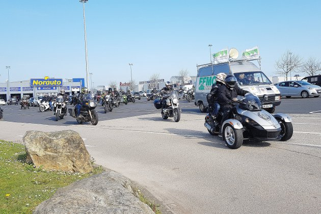 Manche: les motards en colère n'appellent pas à bloquer le 17 novembre