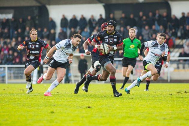 Le Rouen Normandie Rugby collectionne les victoires