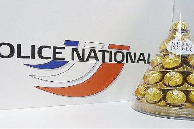 Rouen: les policiers lui débloquent une vertèbre en l'interpellant, il leur offre des chocolats