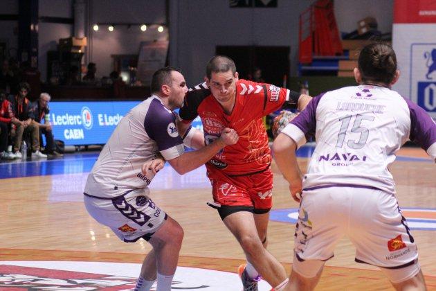 Handball (Proligue).Caen lâche le derby à Cherbourg et plonge plus bas que terre