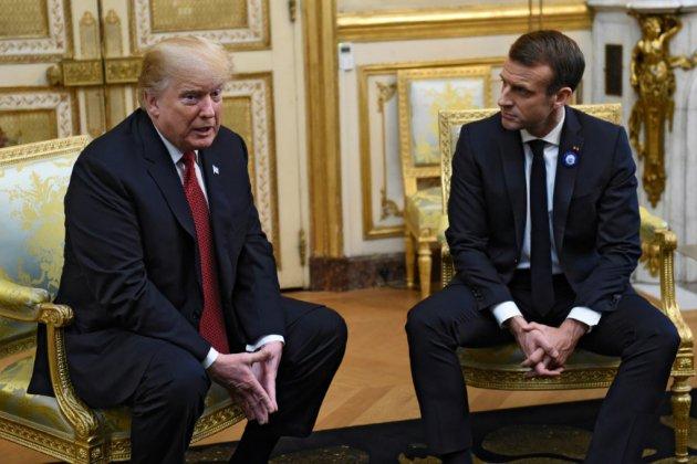Macron reçoit Trump, ton conciliant sur la défense européenne