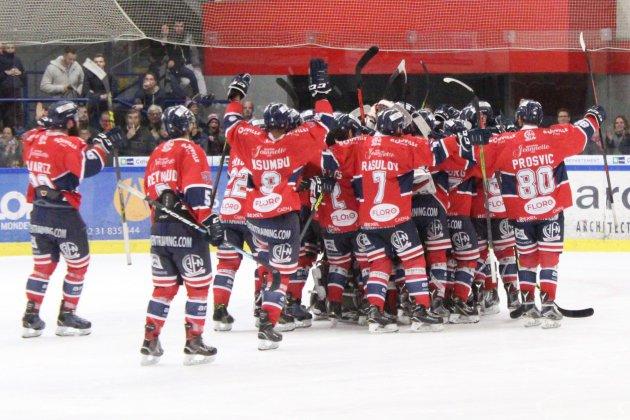 Hockey sur Glace (D1) : Les Drakkars Caen viennent à bout de Brest