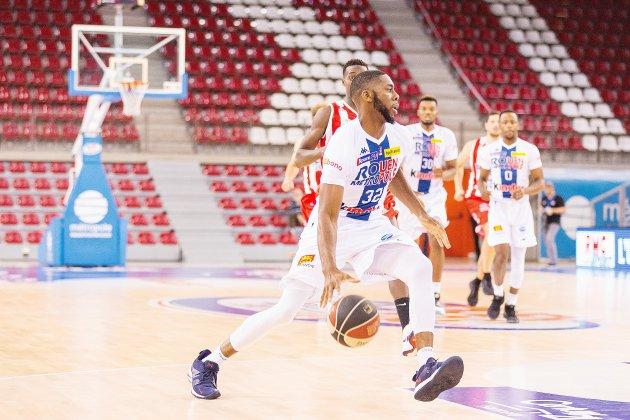 Basket (Pro B) : La belle série se termine pour Rouen, face à Nantes