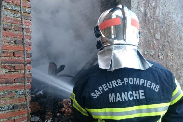 Manche : 5 veaux périssent dans l'incendie d'un bâtiment agricole