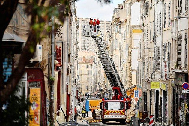 Immeubles effondrés à Marseille: des perquisitions dans les services municipaux