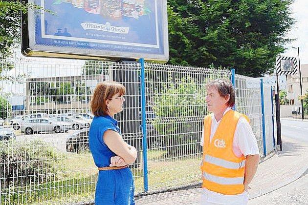 Des salariés bloquent un site de Novandie dans l'Eure
