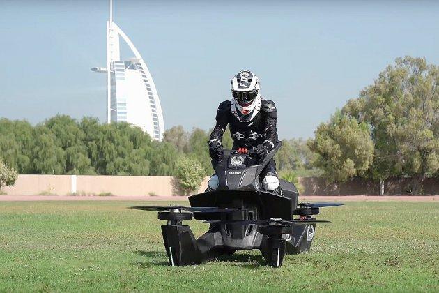 Dubaï donne des ailes à la police