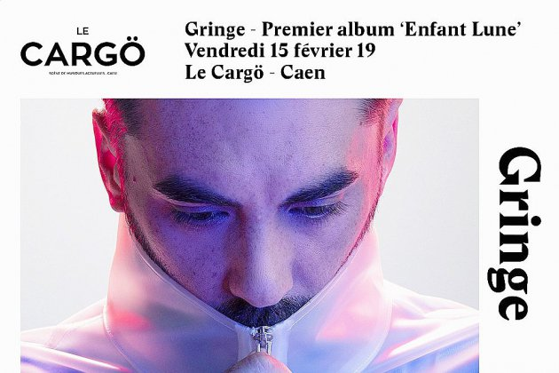 Gringe en concert à Caen en février
