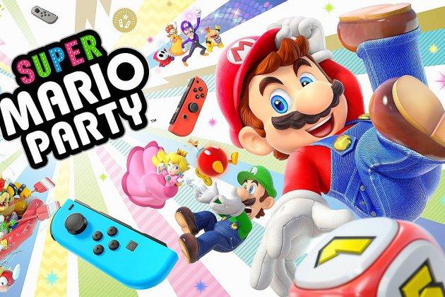Super Mario Party à gagner avec le hit de la salle de bains