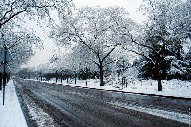 Le retour de la neige et du froid en Normandie