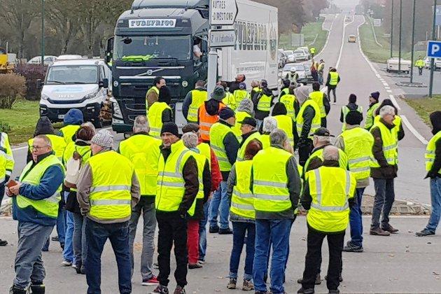 Gilets jaunes: le point sur les actions ce lundi à 15 heures en Seine-Maritime