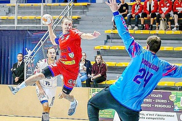 Handball : le SM Vernon battu à Grenoble