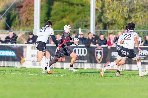 Rugby (Fédérale 1): les Lions de Rouen font leur chemin en tête