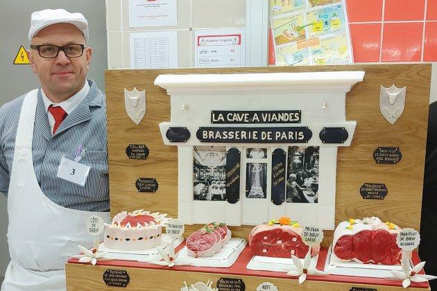 Un boucher d'Argentan sacré meilleur ouvrier de France