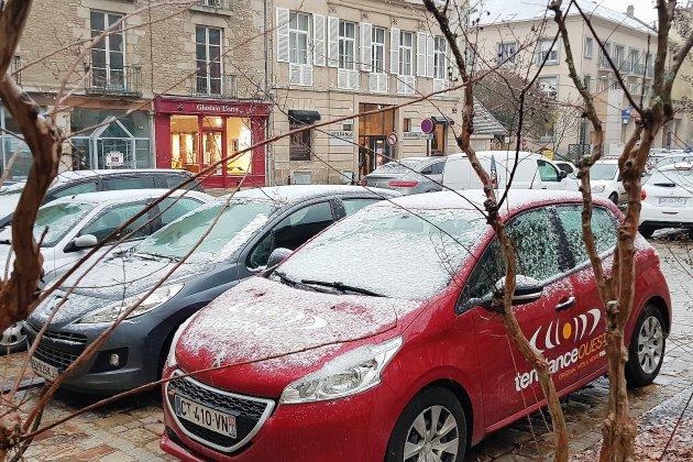 Premières chutes de neige sur l'Orne