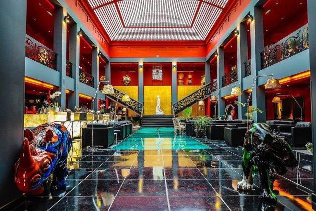 Un hôtel de luxeouvre dans une carrière abandonnée