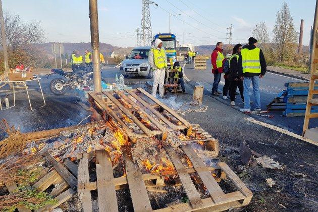 Gilets jaunes: la situation à 9 heures en Seine-Maritime
