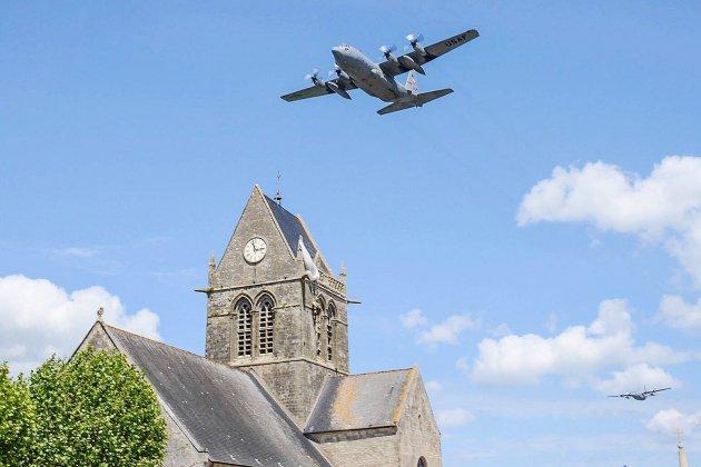 75e D Day dans la Manche: commémorations à Sainte-Mère-Église