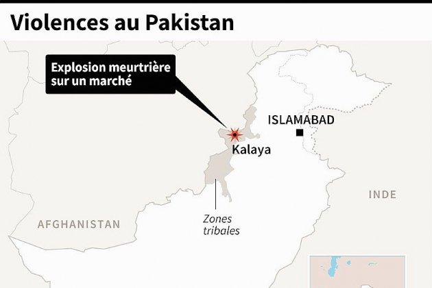 Pakistan: au moins 20 morts dans un attentat dans les zones tribales