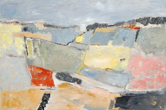 L'artiste peintre, Sophie Dumont expose