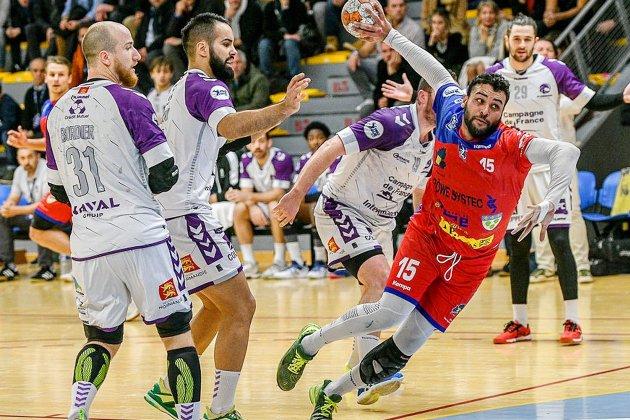 Handball (Proligue) : derby sans vainqueur entre Vernon et Cherbourg
