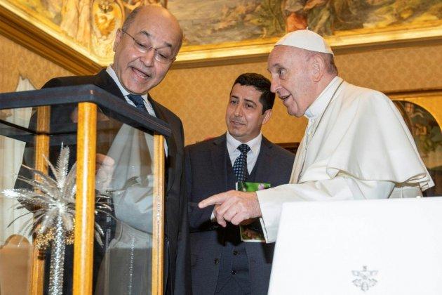 """Le pape François se félicite des """"développements positifs"""" en Irak"""