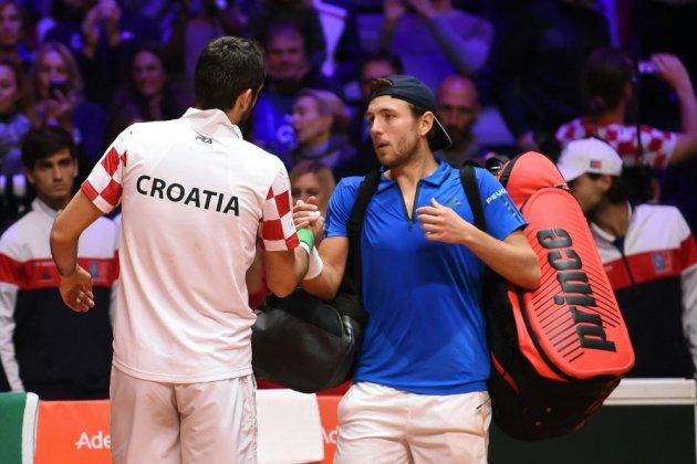 Coupe Davis: pas de miracle pour la bande de Noah, détrônée par la Croatie
