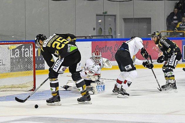 Hockey sur glace: les Dragons de Rouen se ressaisissent