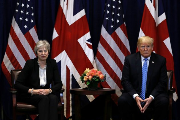 Brexit: Trump savonne la planche de Theresa May