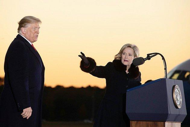 Trump renforce sa majorité au Sénat après une victoire dans le Mississippi