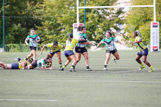 Rugby féminin: l'Asruc poursuit son apprentissage du haut niveau