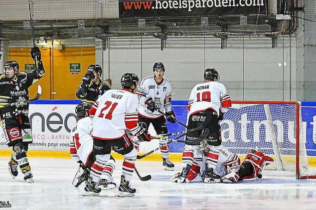 Hockey: les Dragons terminent leur périple avec une victoire à Bordeaux