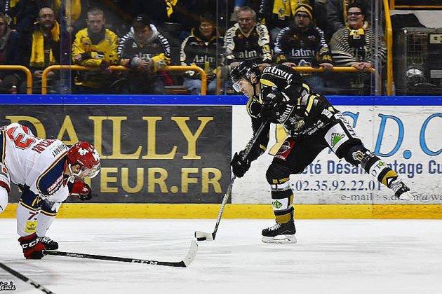 Hockey sur glace: choc des extrêmes pour les Dragons de Rouen