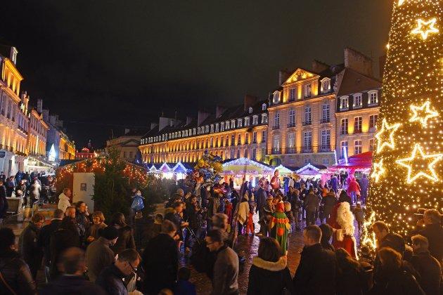 Caen: un premier gros week-end de festivités de Noël
