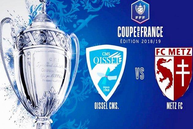 Coupe de France (8e tour): Romain Djoubri et Oissel prêts pour l'exploit face à Metz