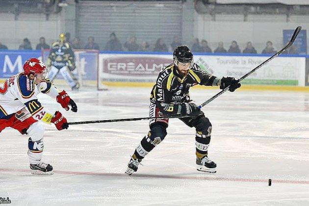 Hockey sur glace: les Dragons de Rouen face à leur plus gros adversaire