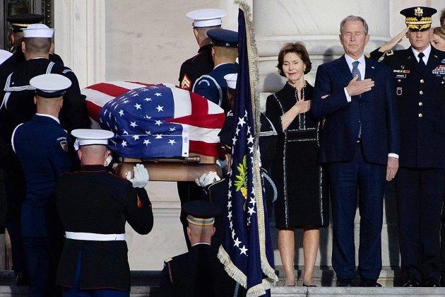 Obsèques nationales pour George H. W. Bush, l'Amérique en deuil